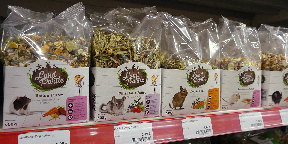 Futter Ratte Maus Degu Hamster